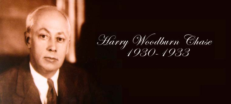 President Harry Woodburn Chase